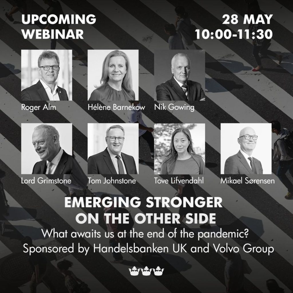 Emerging Stronger on the other side 2020 eventposter